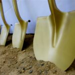 Ground Breaking Shovels