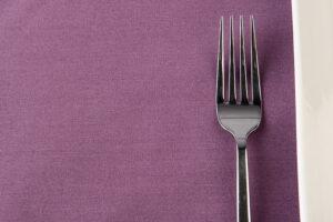 Claret Spun Polyester