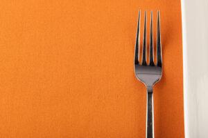 Orange Spun Polyester