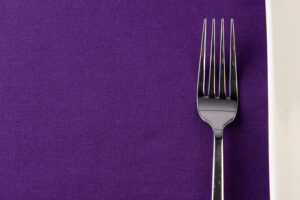 Purple Spun Polyester