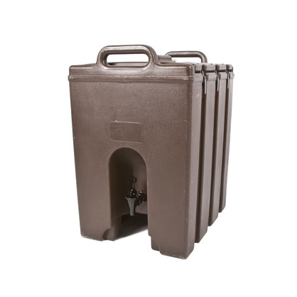 10 Gallon Tan Beverage Dispenser