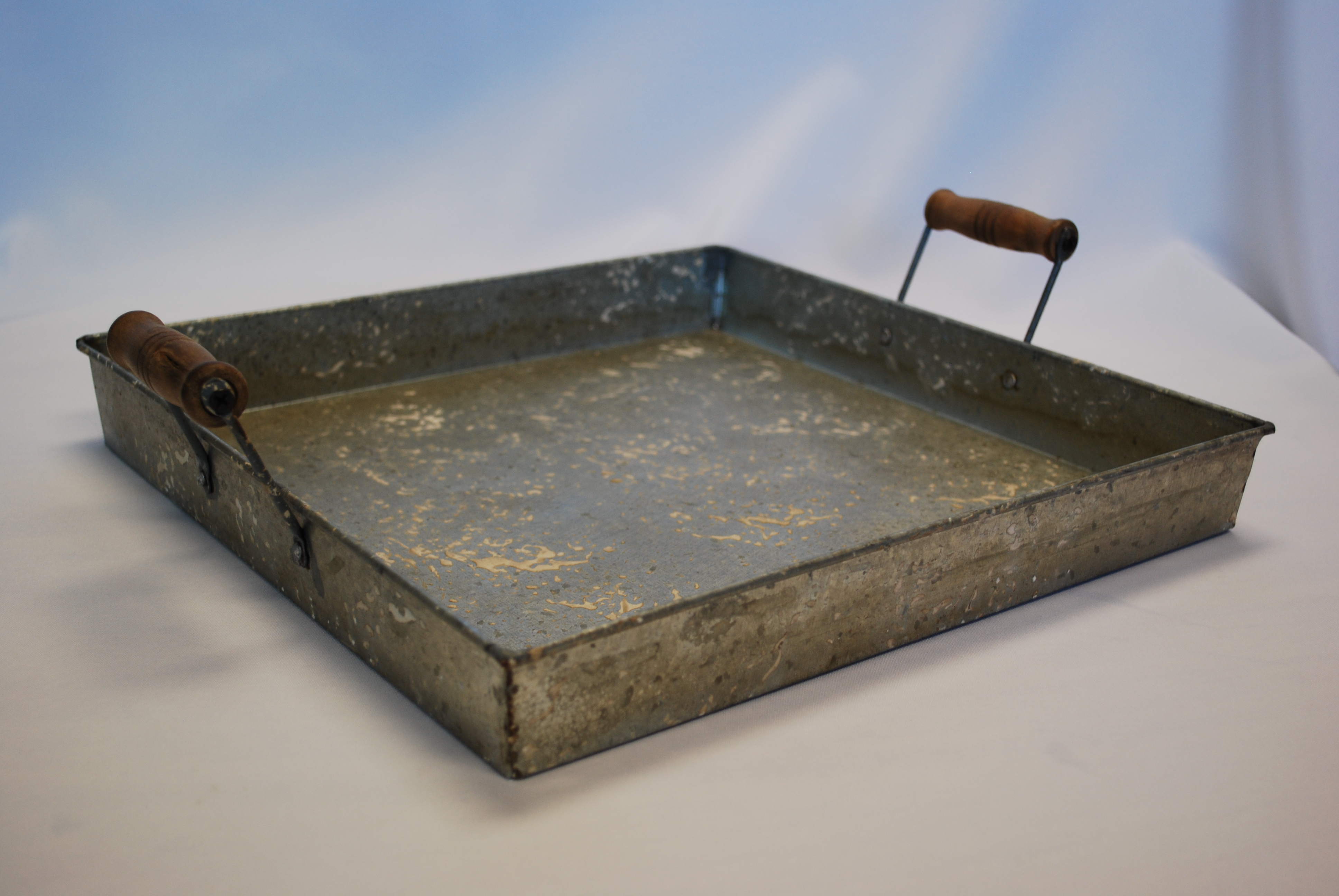 Galvanized Passing Tray American Party Rentals