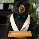5' Stuffed Butler Bear