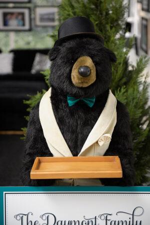 5' Stuffed Butler Bear