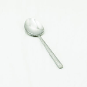 10 Inch Hammered Serving Spoon