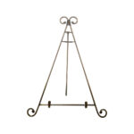 18 Inch Brass Table Top Easel