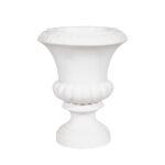 20 Inch White Classic Urn