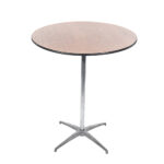 30 Inch Round Pedestal Table Plywood Top