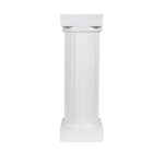 30 Inch Tall White Column Package