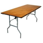 """30"""" x 72"""" Plywood Table"""