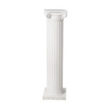 53 Inch Tall White Column Package