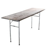 8' Table w Extended Legs
