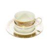 Baroque Cup & Saucer