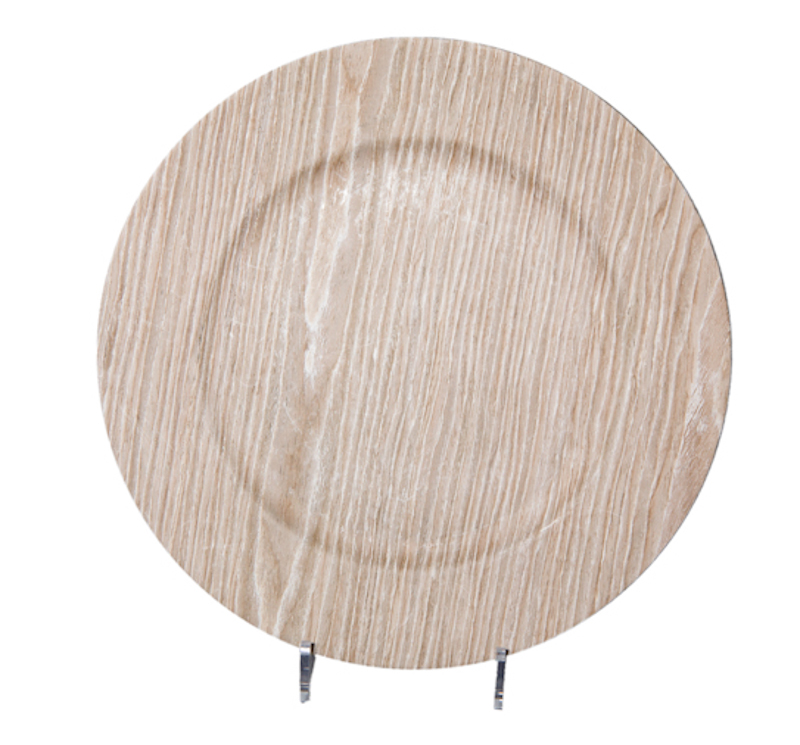 ... Birch Faux Wood Charger  sc 1 st  American Party Rentals & Chargers | Product categories | American Party Rentals