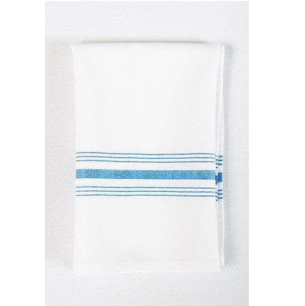 Bistro Napkin with Blue Stripe
