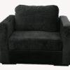 Lovesac Black Armchair