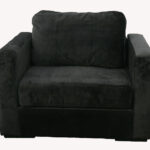 Lovesac Black Armchair
