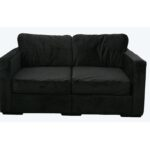 Lovesac Black Loveseat