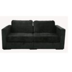 Lovesac Black Sofa (2)