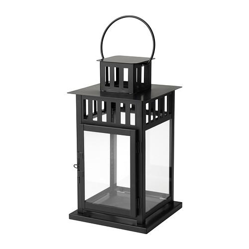 Lantern - 9 inch Square Black
