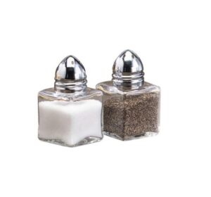 Mini Cube Salt & Pepper Set