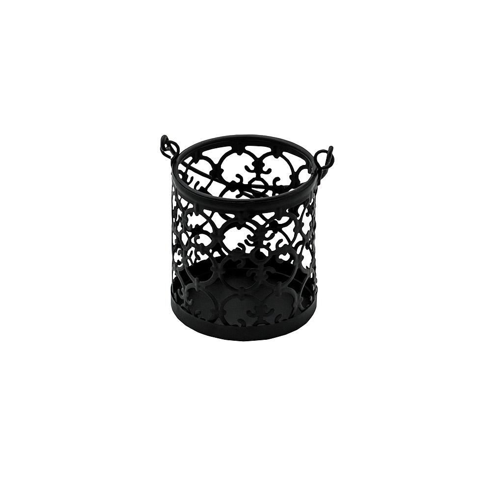 Moroccan Black Hanging Candle Holder