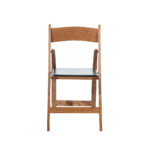 Oak Wood Folding Chair