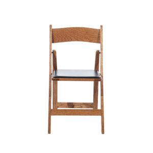 Oak Wood Folding Chair