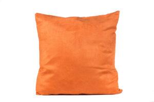 Papaya Microsuede Pillow