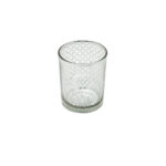 Silver Lattice Votive Cup