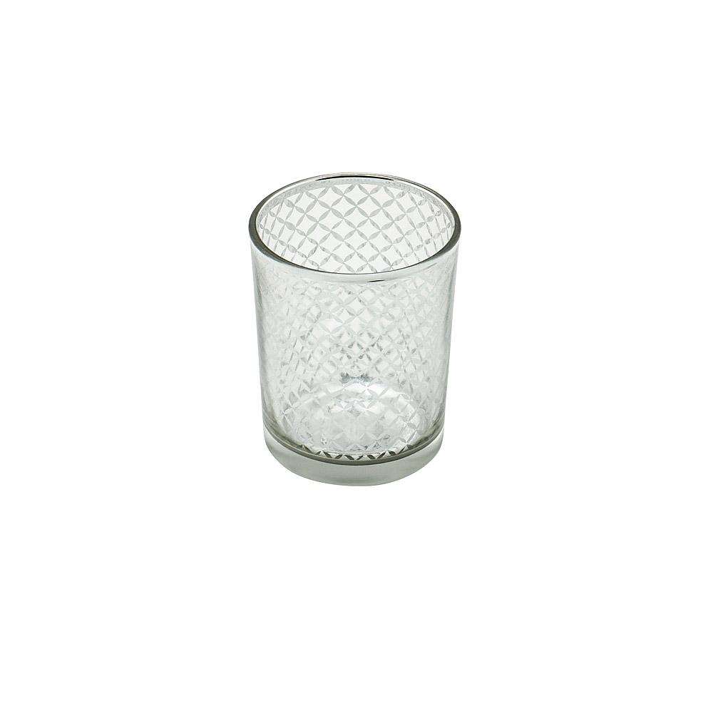 Silver Lattice Votive Cup