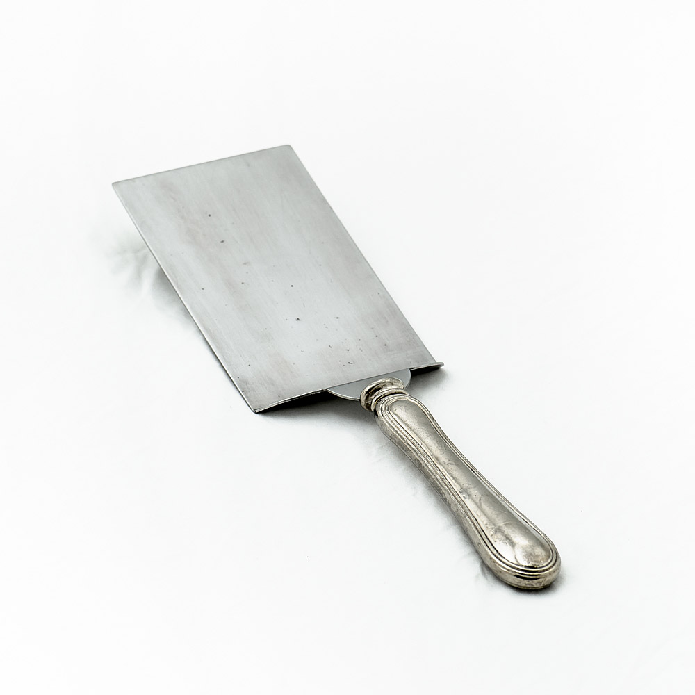 Silver Plate Rectangular Food Server