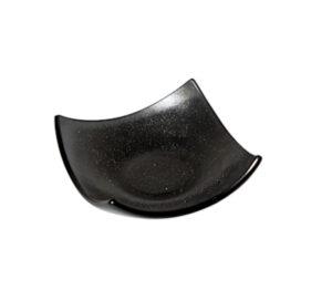 Smoke Glass Wing Dish