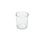 Straight Side Clear Glass Votive
