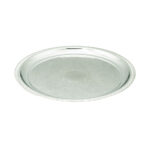 12 Inch Round Silver Tray