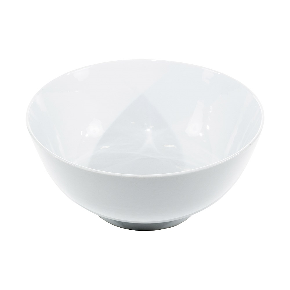 12 Inch White China Serving Bowl