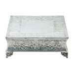 14 Inch Square Nickel Plated Cake Riser