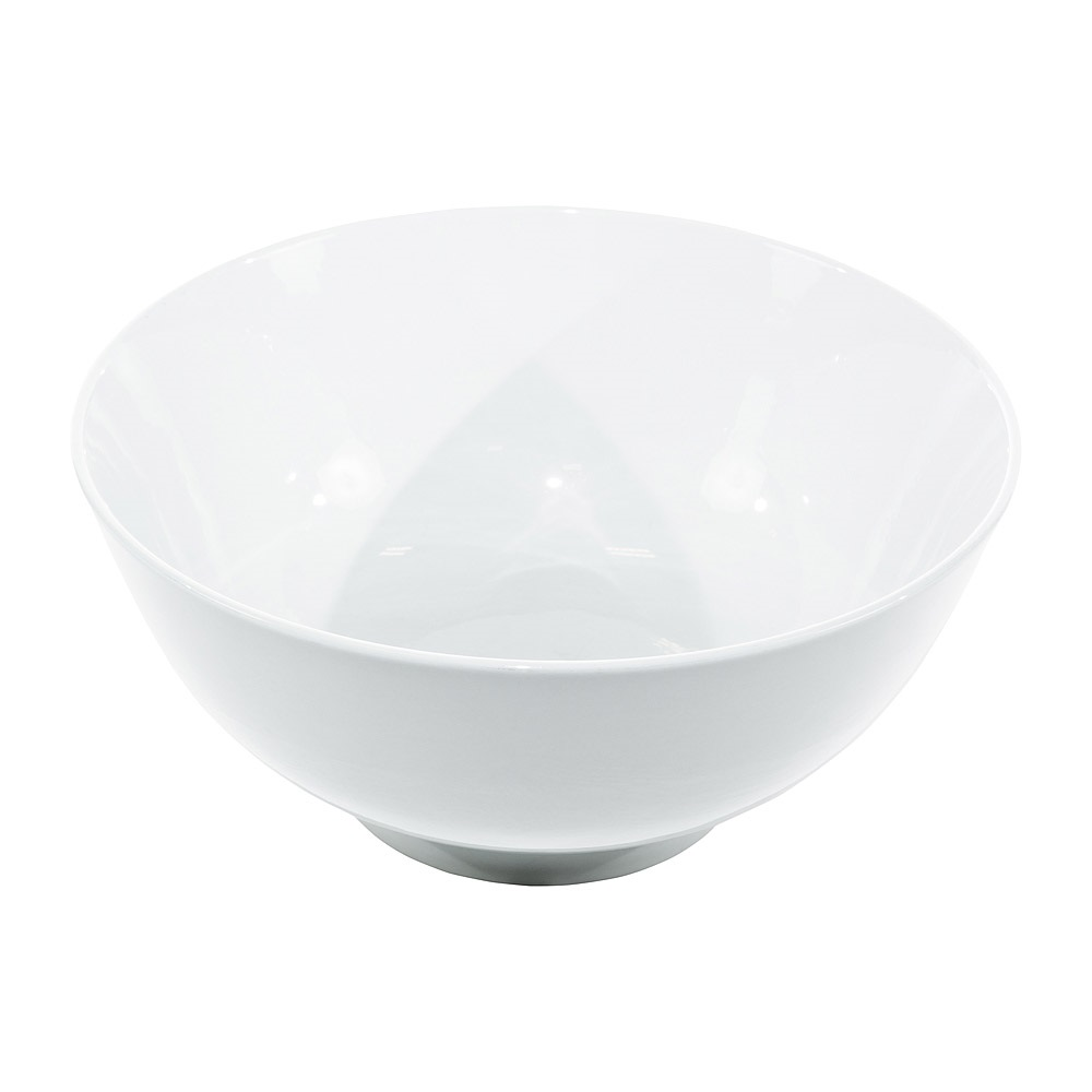 14 Inch White China Serving Bowl
