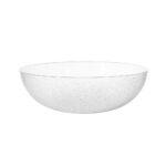 15 Inch Acrylic Pebble Bowl