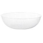 18 Inch Acrylic Pebble Bowl