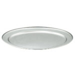 20 Inch Oval Stainless Tray