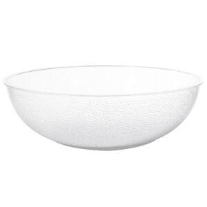 23 Inch Acrylic Pebble Bowl