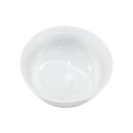 6 Inch White Serving Bowl