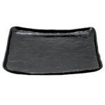 Black Acrylic Square Tray