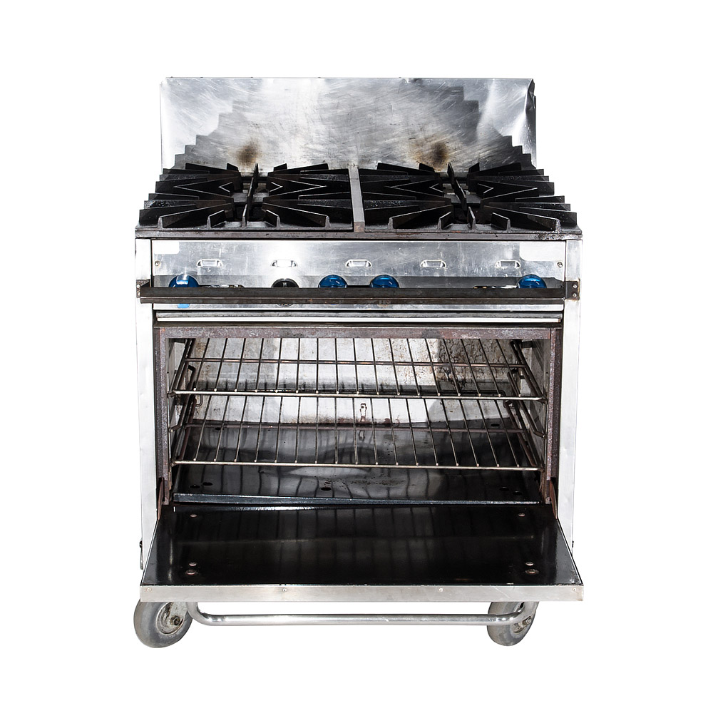 Field Oven with Burners
