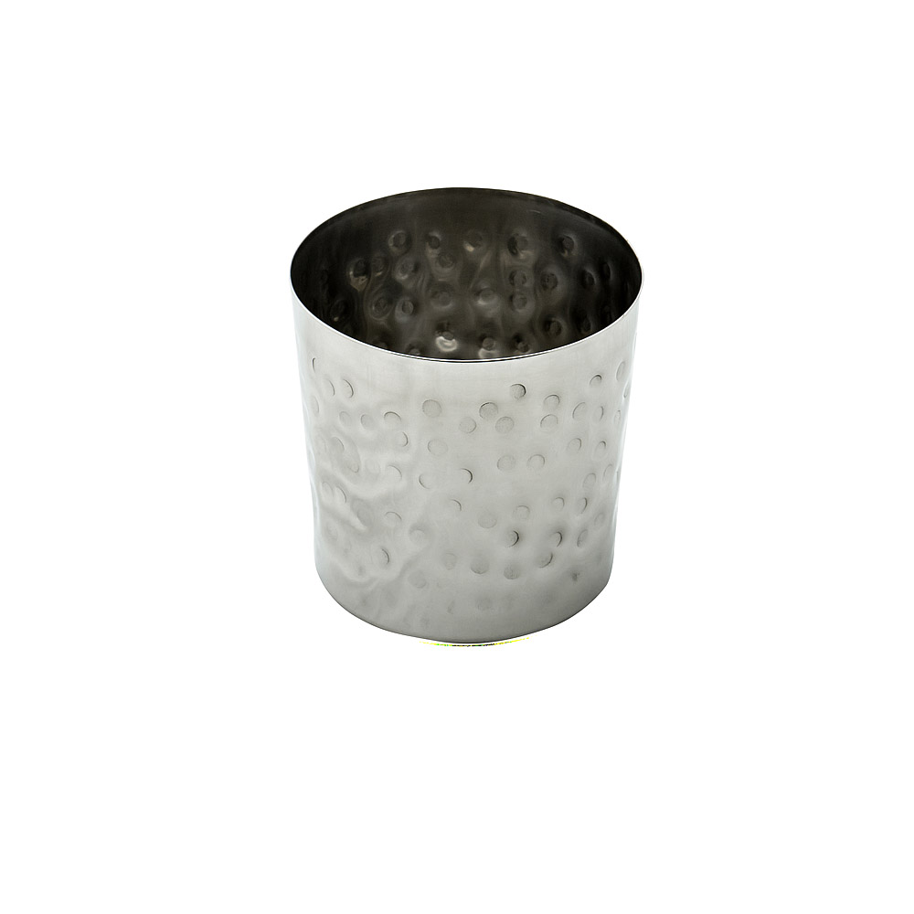 Hammered Stainless Steel Cup