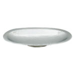 Large Deep Oval Hammered Tray