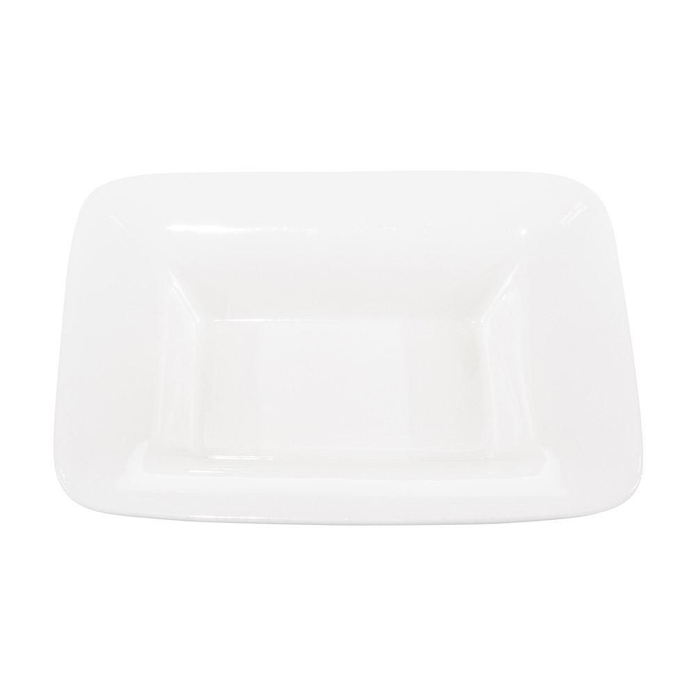 Large White Rectangular Serving Bowl