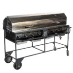 Propane Club Grill with Hood Wind Breaker