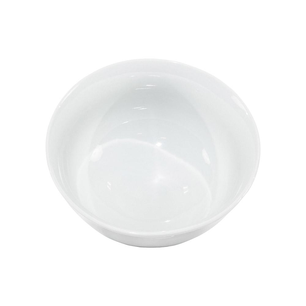 Round White China Vegetable Bowl